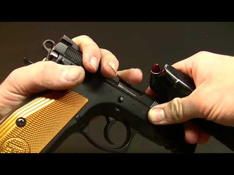 Field Stripping the CZ75 SP01