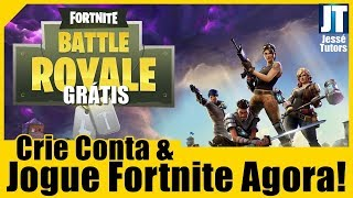 FORTNITE | CREATE ACCOUNT AND PLAY FOR FREE NOW 2018!