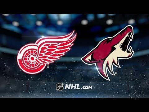 Detroit Red Wings Vs. Arizona Coyotes | NHL Game Recap | October 12, 2017 | HD