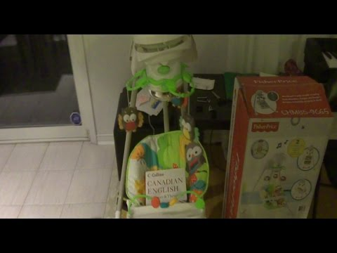 Fisher Price Baby Swing Startup Grinding Noise Fix