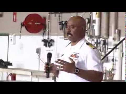 Academy Day 2012 - Captain Robert Johnson, Merchant Marine Academy