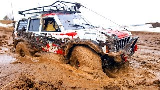 RC Cars Extreme Mud OFF Road Spring – Axial SCX10 ii   Jeep Cherokee, Hummer H2 — Extreme Pictures
