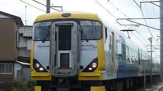 [警笛あり]宇都宮線を走るE257系500番台  団体列車 白岡駅付近通過