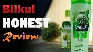 Expectations vs Reality - Hair Fall Control Shampoo Vatika Naturals & Oil Review Urdu Hindi