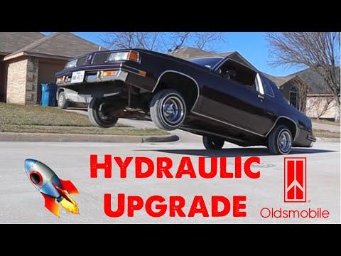 HYDRAULIC UPGRADE FOR MY CUTLASS!