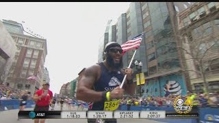Marine Finishes Boston Marathon For Semper Fi Fund