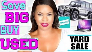 5 THINGS YOU SHOULD ALWAYS BUY USED aka 2ND HAND FEATURING OFFERUP