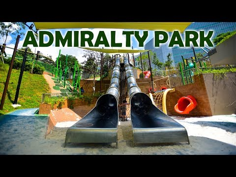 Admiralty Park New Playground - Most number of slides in Singapore (Latest)