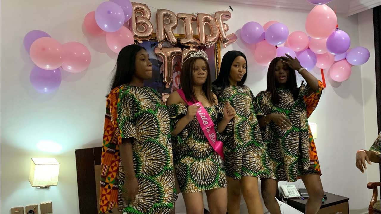 Download ANKARA THEMED BRIDAL SHOWER IN NIGERIA+WATCH THIS BEFORE LETTING UR DAUGHTER ATTEND A BRIDAL SHOWER
