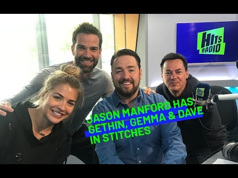 Jason Manford had Gemma Atkinson in stitches over something unexpected
