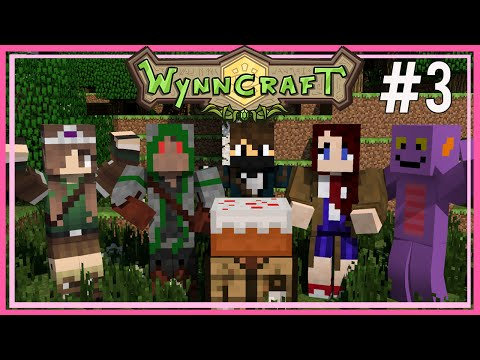 Minecraft   Wynncraft Wednesdays   Emerald Trail and Leveling Up Ep 3