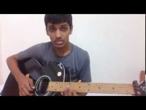 Arey re guitar cover from Happy days