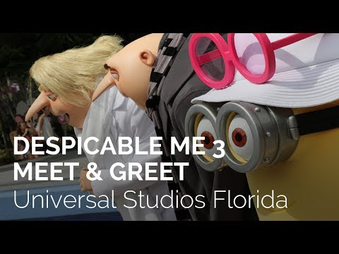 Despicable Me 3 Minions Meet & Greets at Universal Studios Florida