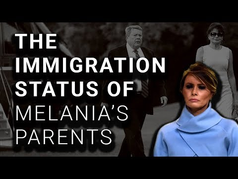 White House Won't Disclose Melania's Parents' Immigration Status