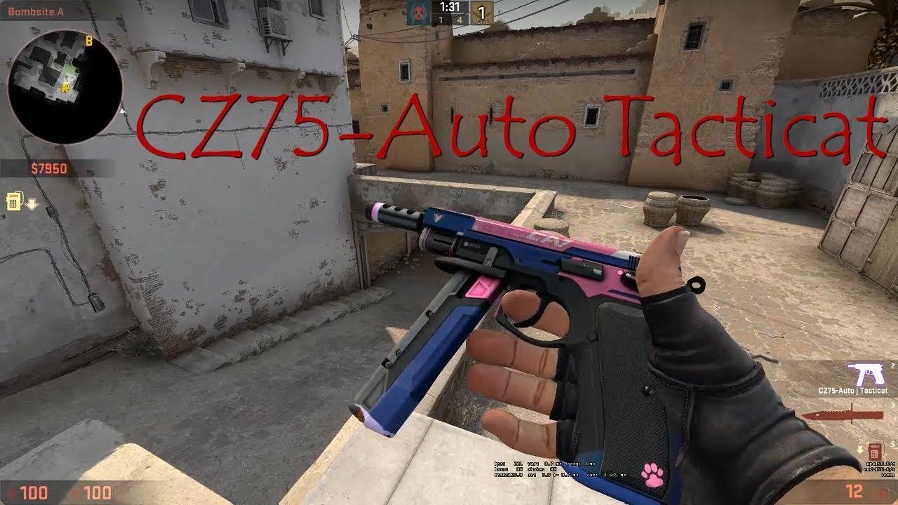 CSGO CZ75 Auto Tacticat Skin Showcase