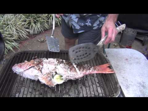 From Ned's Kitchen: Grilled Whole Snapper