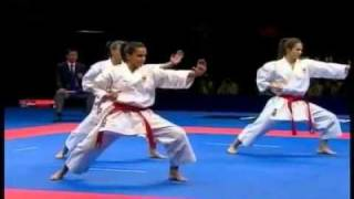 Unsu .karate female WKF