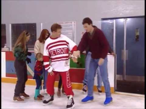 Full House- Jesse can't ice skate