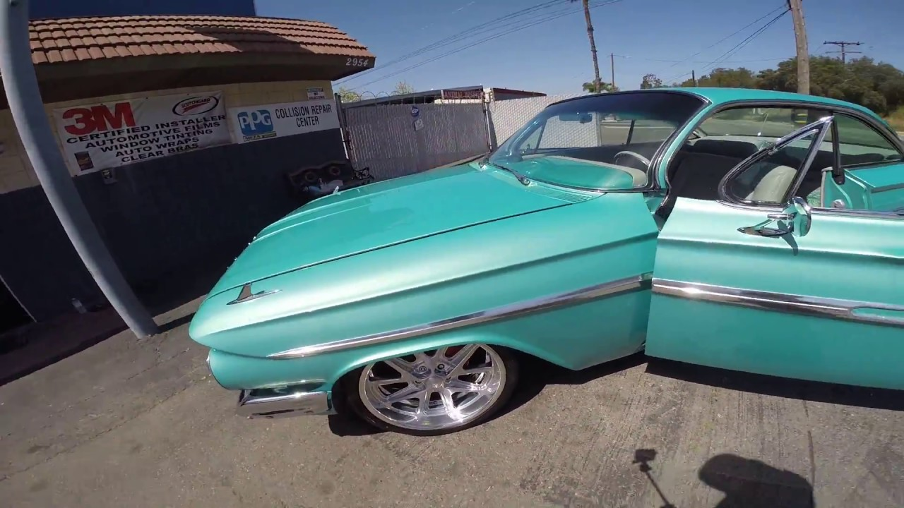 61 impala restoration pro touring [ 1280 x 720 Pixel ]