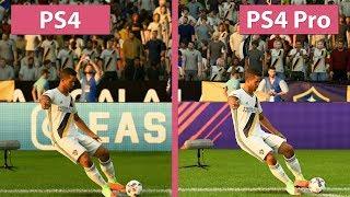 FIFA 18 – PS4 vs. PS4 Pro 4K Graphics Comparison