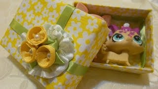 How To Make A Beautiful Recycle Gift Box (fabric)