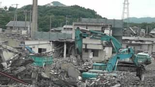 取り壊される、さぬき市民病院、最終章H24.6.16.11時31分.mov