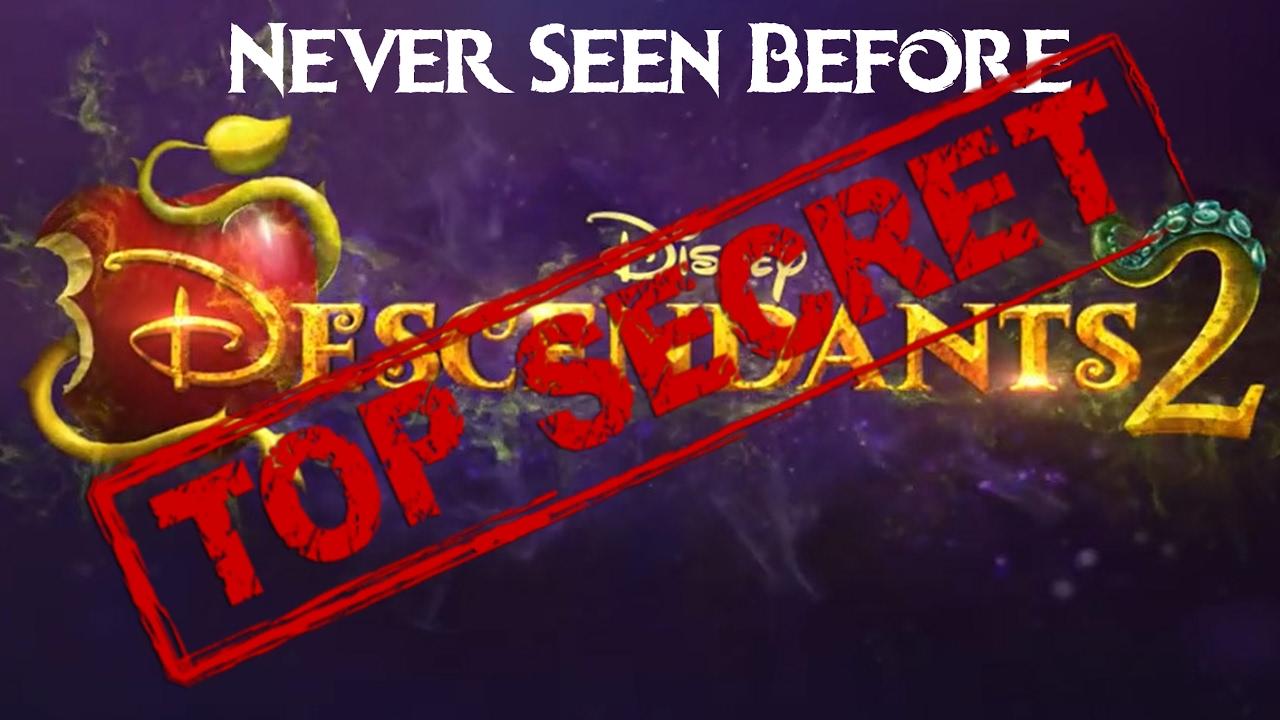 New Descendants 2 EXCLUSIVE Secret   Never Seen Before! Get Access To  Disney Descendants 2 Content!