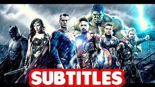 Charlie Clips Avengers and Justice League Scheme SUBTITLES   Masked Inasense