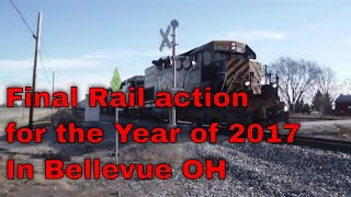 Final Rail action for the Year of 2017 In Bellevue OH