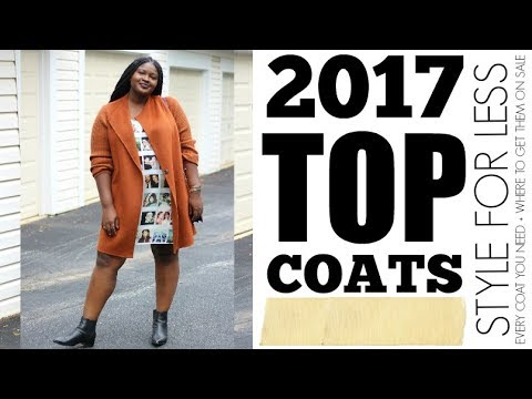 2017 TOP WINTER COATS GUIDE & TRY ON + CYBER MONDAY / BLACK FRIDAY PICKS I PLUS SIZE FASHION