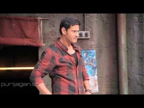 Unseen Aamchi Mumbai Song HD Making - Businessman