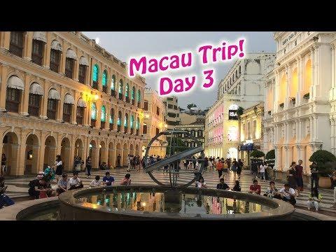 Macau Trip Day 3 - Venetian, Planet J, Golden Reels, Senado Square | MizReeney&Caelyn Ep.152