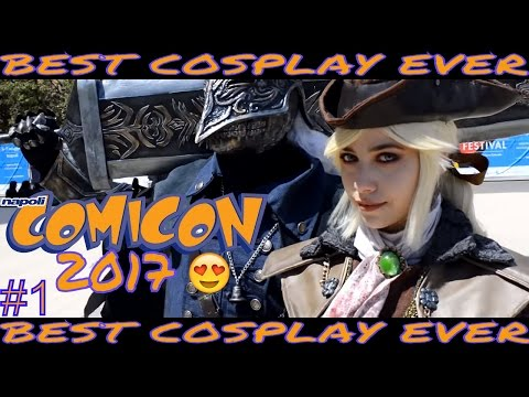 SPECIALE COMICON 2017 BEST COSPLAYER EVER ! PT.1