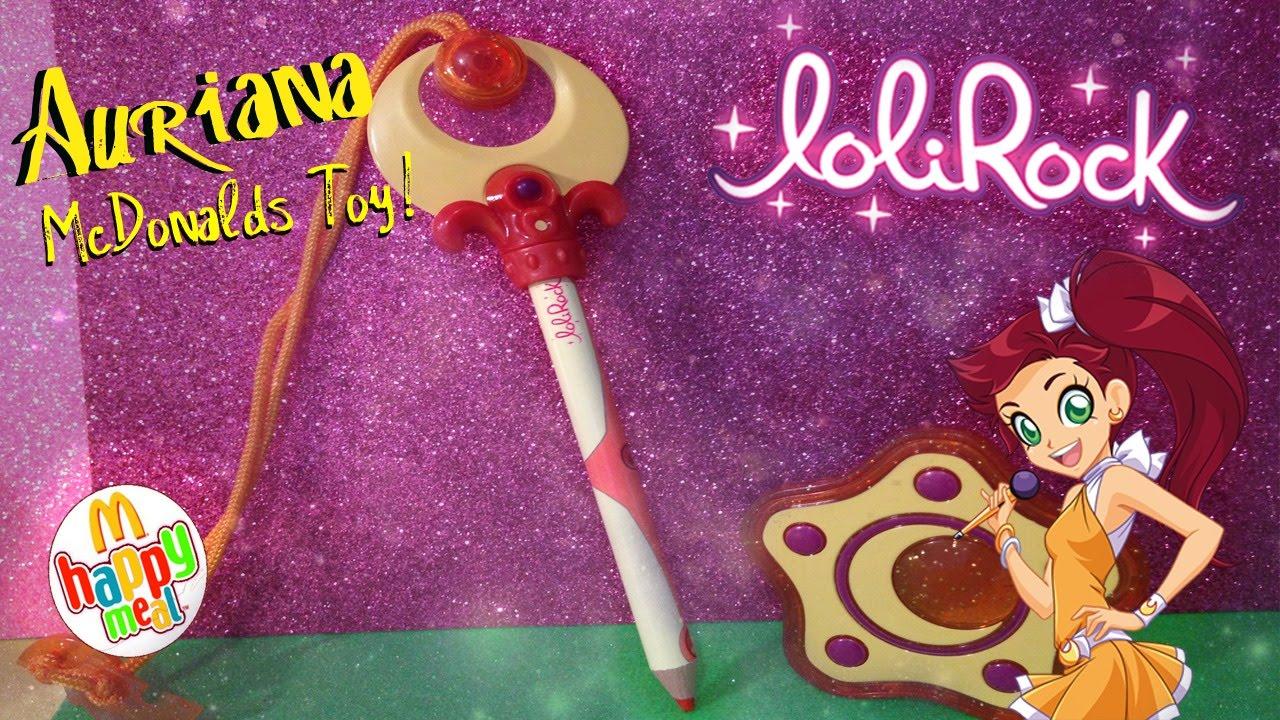 Bien-aimé Lolirock McDonald's Happy Meal Toy - Auriana! - YouTube BN38