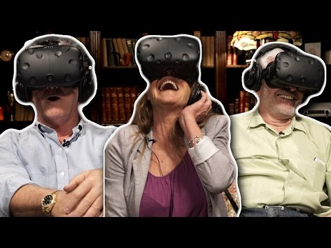 Grandparents Try Sexy Virtual Reality