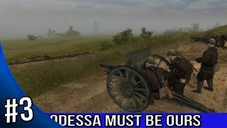 Men of War Red Tide Walkthrough - Odessa Must Be Ours - Baptism By Fire 3/5