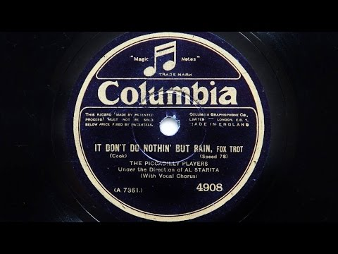The Piccadilly Players – It Don't Do Nothin' But Rain