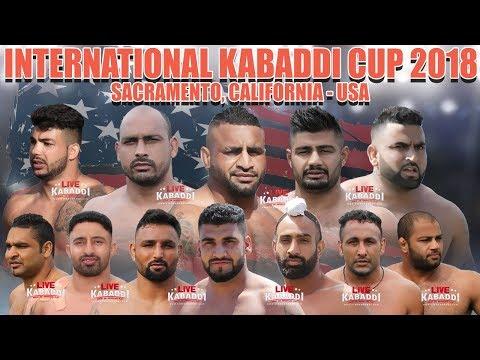 LIVE KABADDI - Sacramento International Kabaddi Cup 2018
