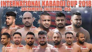 LIVE KABADDI Sacramento International Kabaddi Cup 2018