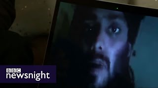 Exclusive interview with 23-year-old British jihadi in Syria - BBC Newsnight