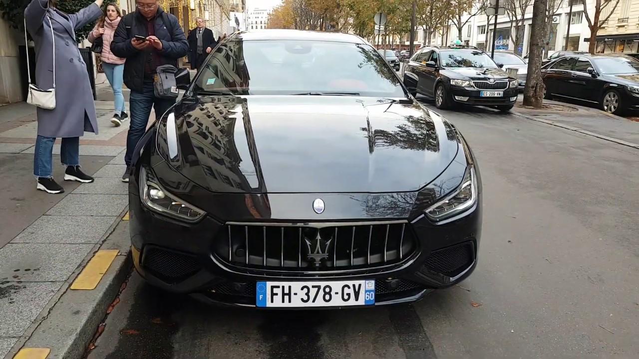 2019 Maserati GHIBLI - 2019 3.0 V6 350 25CV GRANSPORT AUTO in PAris France - YouTube