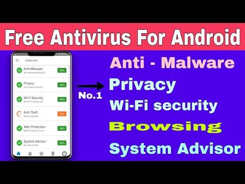 FREE Antivirus For Android |Best And Free Antivirus 2020