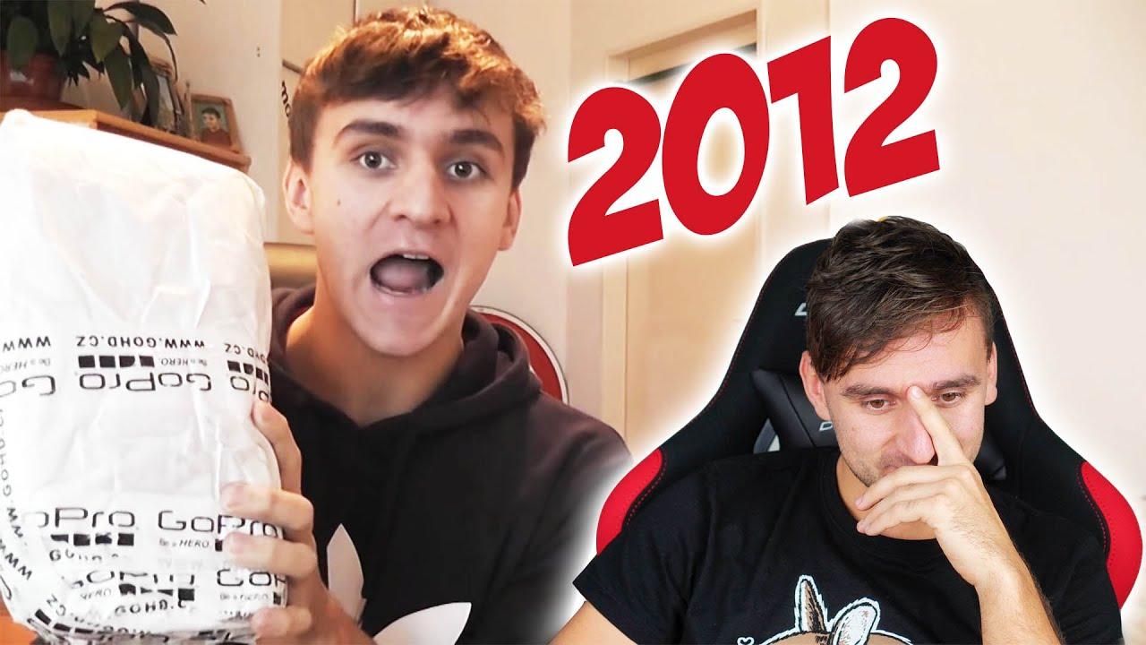 Reaguju na svoje starý videa na Youtube!