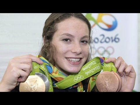 Penny Oleksiak voted Canadian Press female athlete of the year
