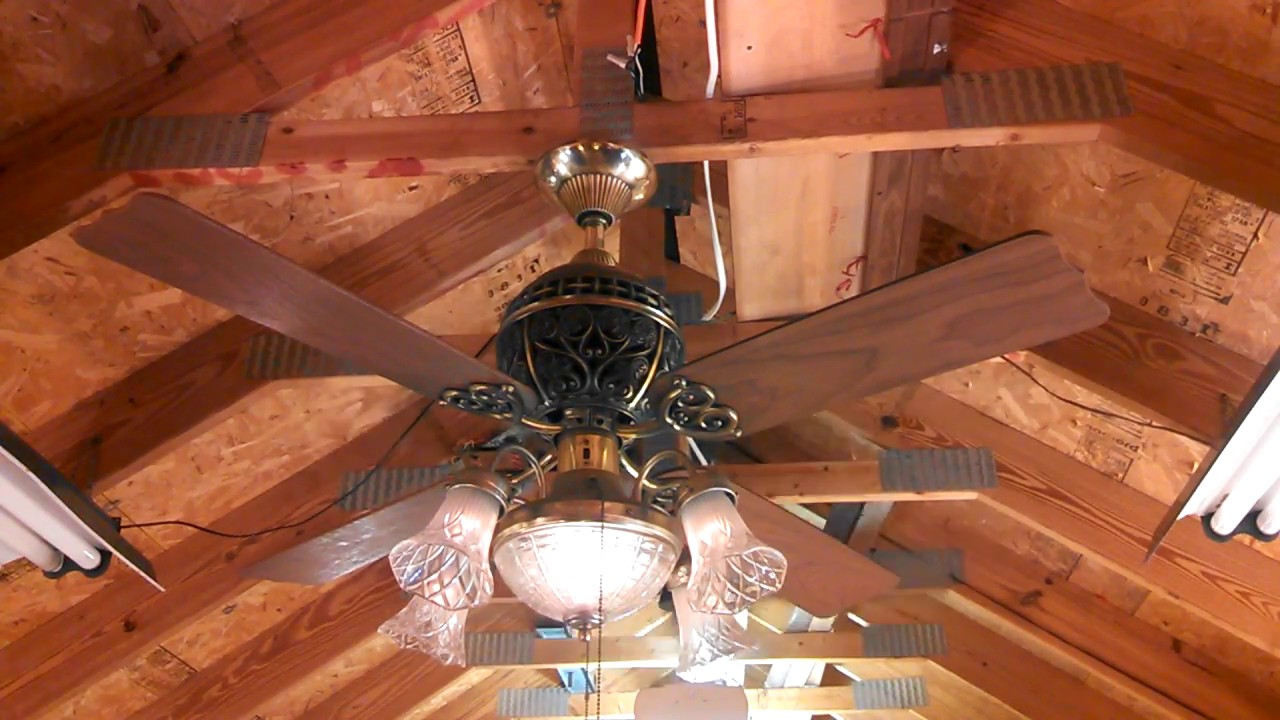 Hunter 1886 Limited Edition Ceiling Fan With Light Kit Wiring Harness