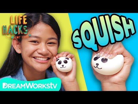 DIY Squishy Panda | LIFE HACKS FOR KIDS