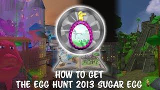 ROBLOX EGG HUNT 2018 - HOW TO GET THE EGG HUNT 2013 SUGAR EGG!