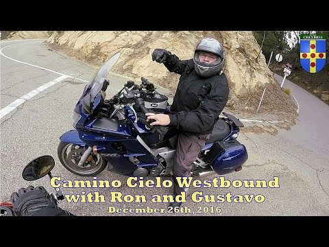 Camino Cielo Westbound with Ron and Gustavo, December 26th 2016