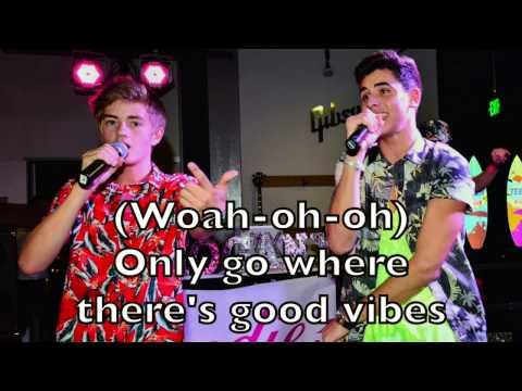Jack and Jack - Tides Karaoke Cover Backing Track + Lyrics Acoustic Instrumental