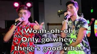 Jack and Jack - Tides Karaoke Cover Backing Track + Lyrics Acoustic Instrumental